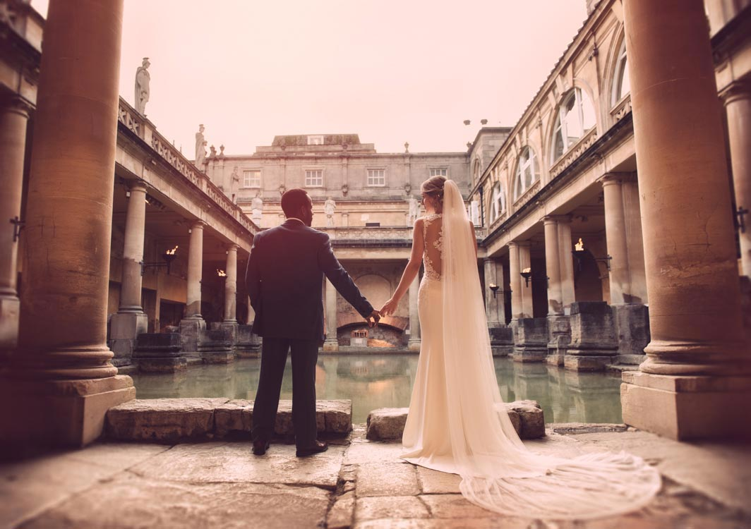 Bath Wedding Photography. The Pump Rooms. Creative, documentary wedding photography. Wedding Stories told unobtrusively and naturally.